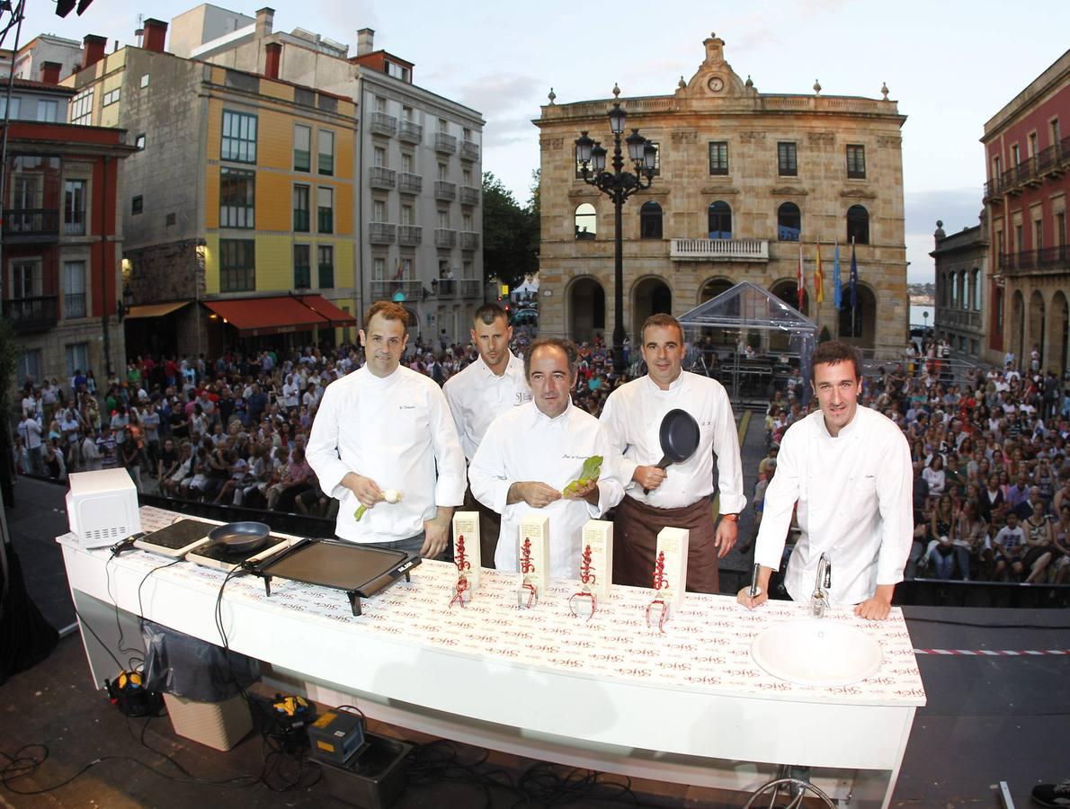 Show cooking en Gijón