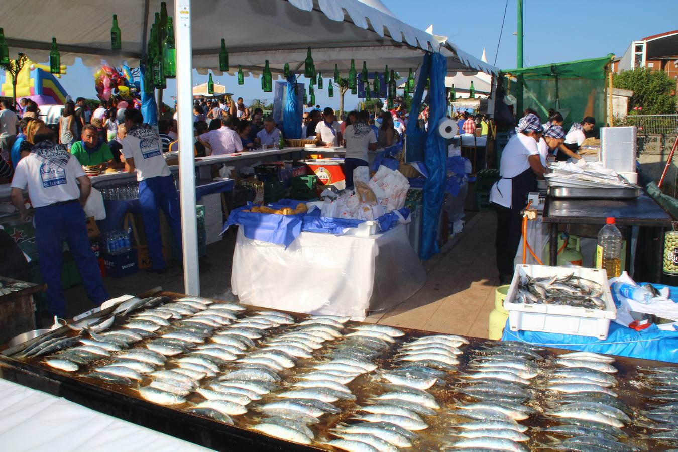 La sardina reina en Candás