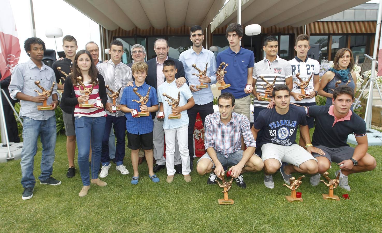 Entrega del Trofeo Quini a los máximos goleadores del fútbol asturiano