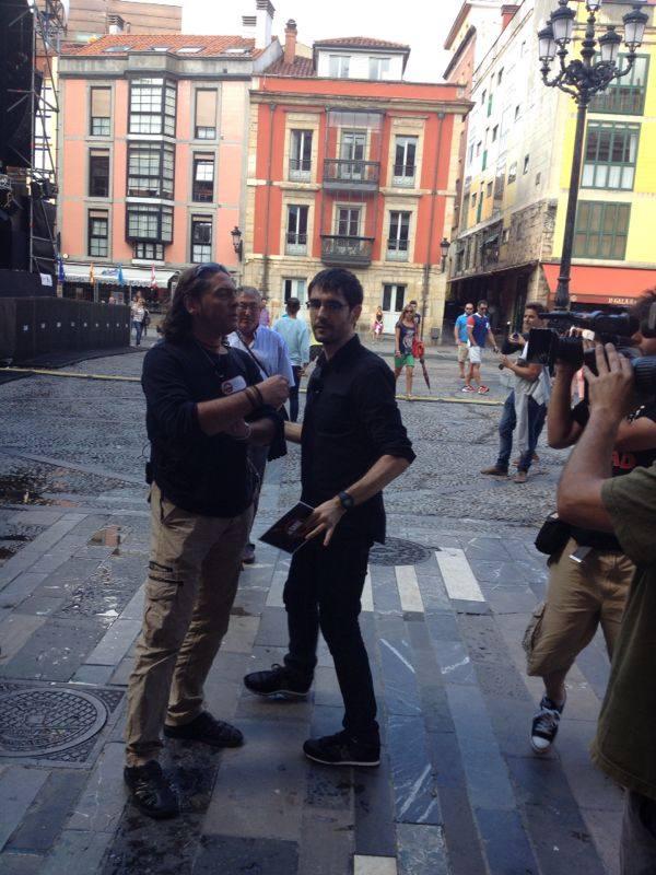Juanra Bonet en Gijón con su programa 'Lo sabe, no lo sabe'
