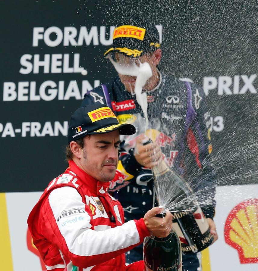 Las mejores imágenes de la segunda mitad de la temporada 2013 de Fórmula-1