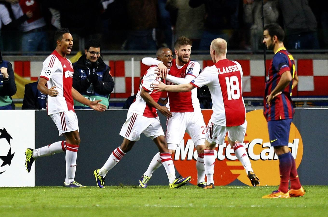 El Barça cae en Ámsterdam