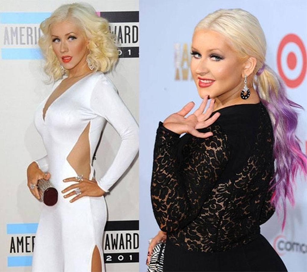 Christina Aguilera vuelve a ser delgada
