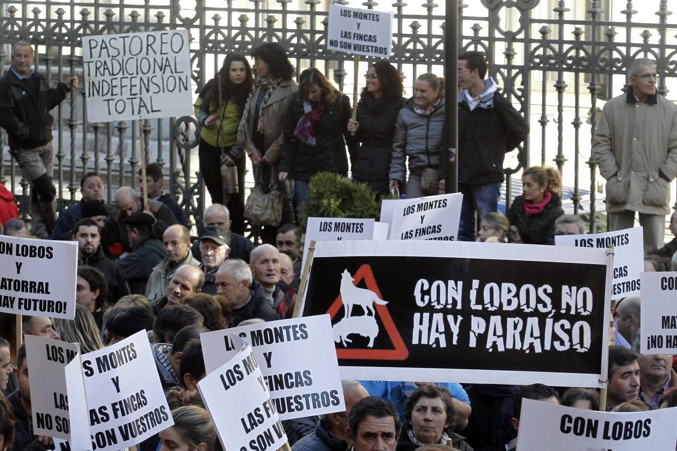 Los ganaderos toman Oviedo