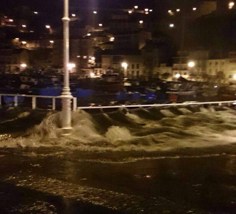 El temporal se ceba con el Occidente de Asturias