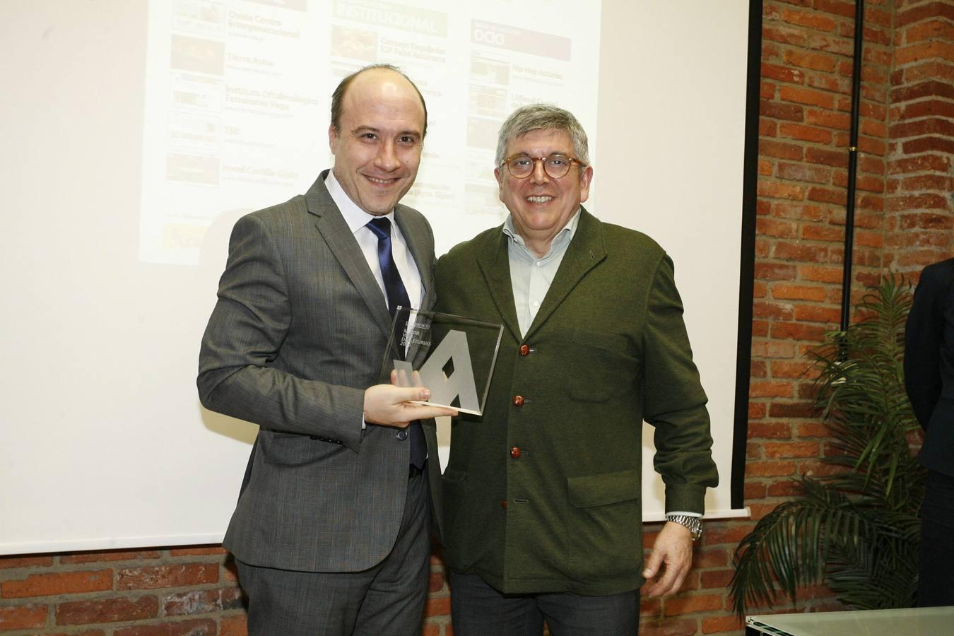 XV edición de los Premios a la Mejor Web de Asturias de EL COMERCIO