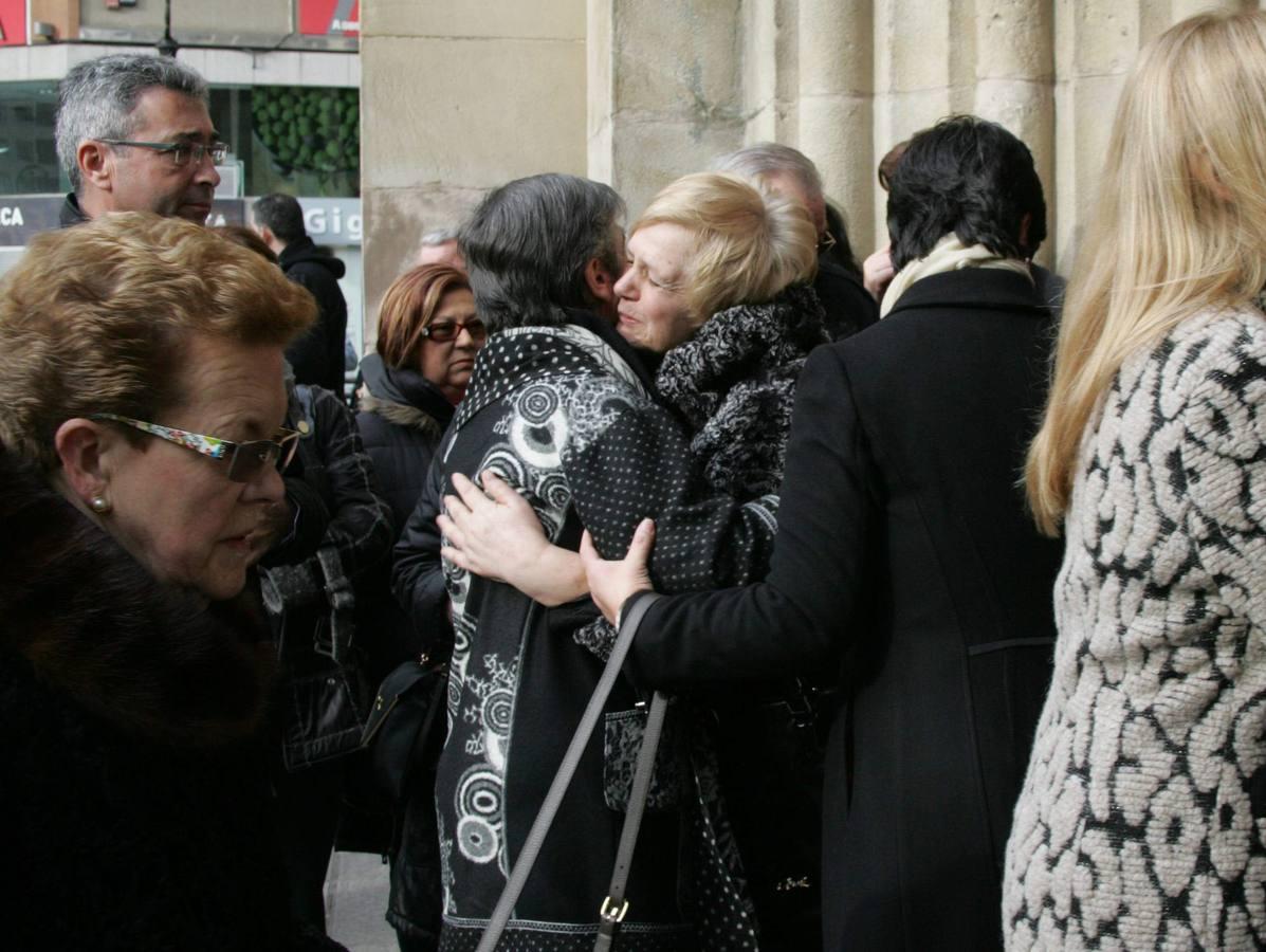 Funeral en Gijón por los seis miembros de la misma familia que murieron en Tordómar