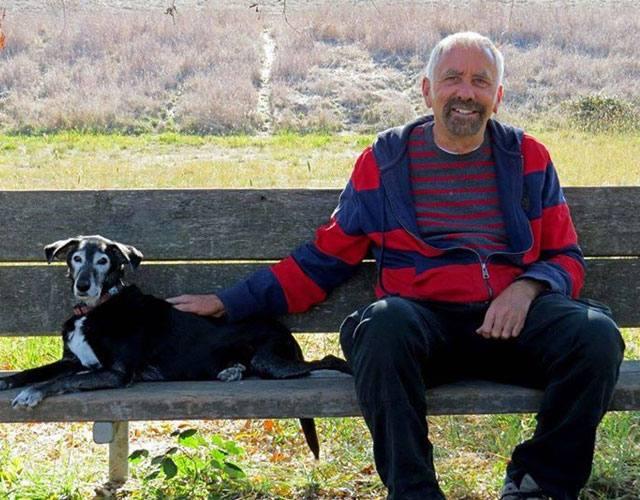 La carta de un hombre a su perro fallecido