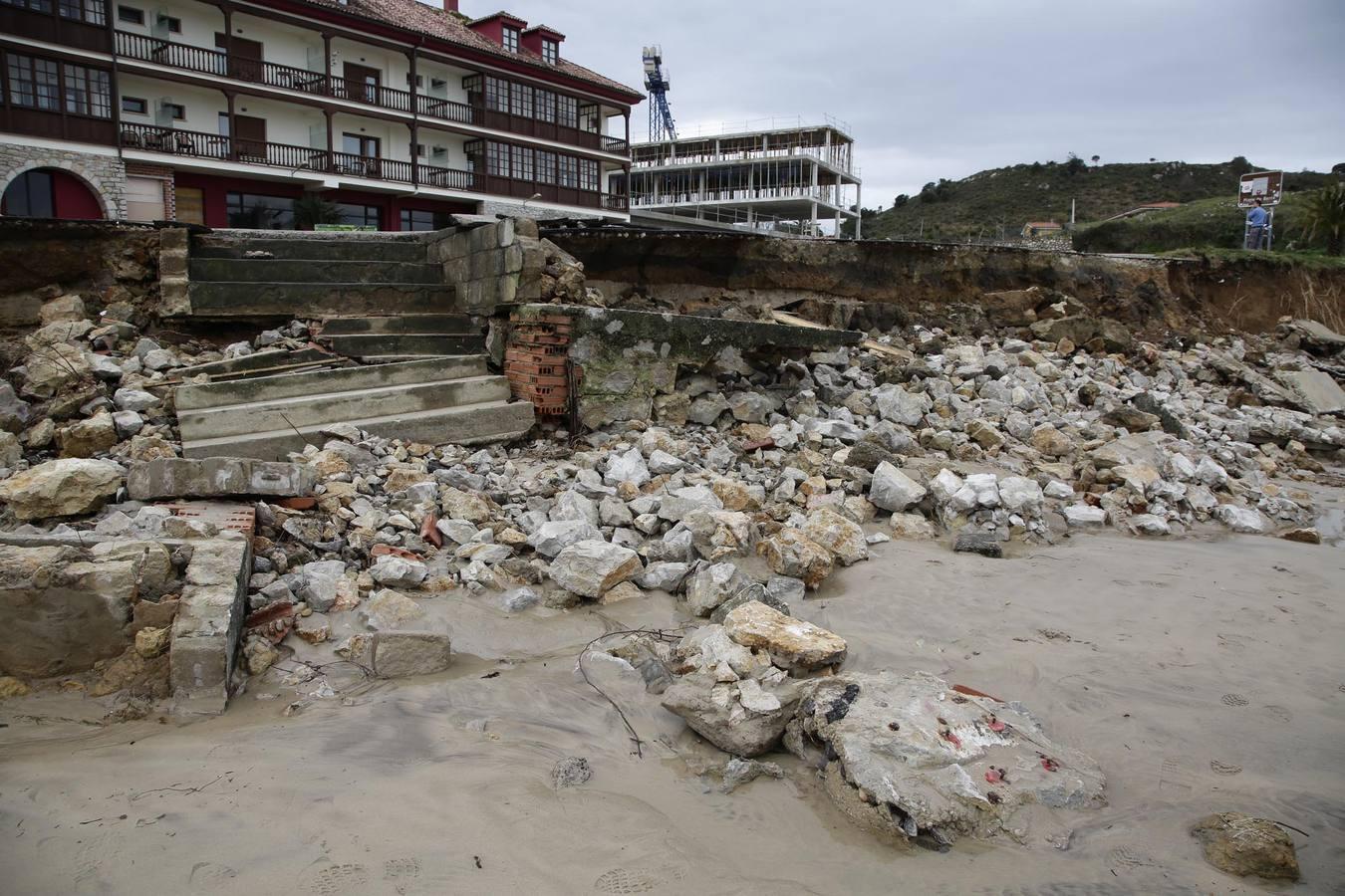 Así dejó el temporal Asturias