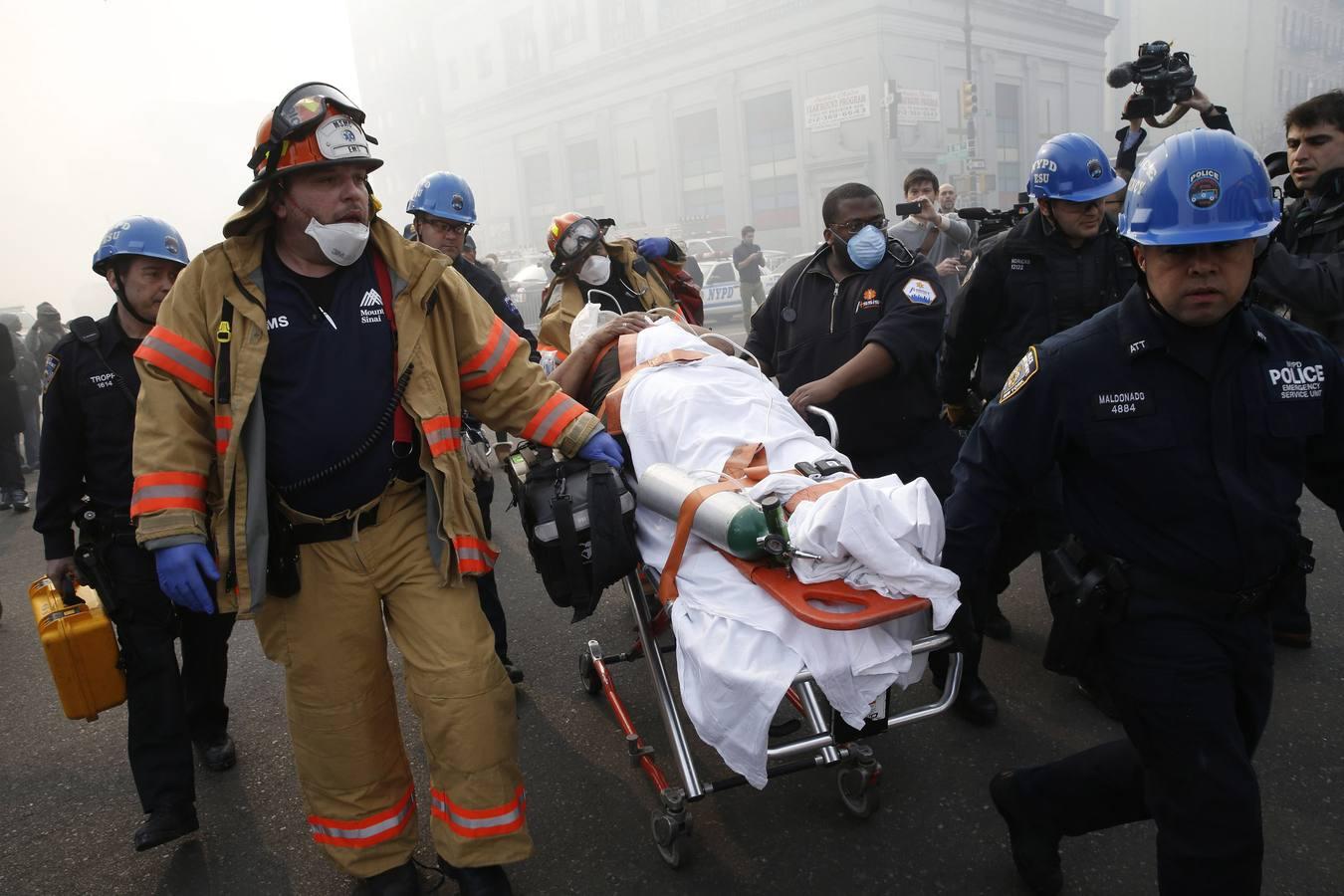 Una fuerte explosión paraliza Nueva York