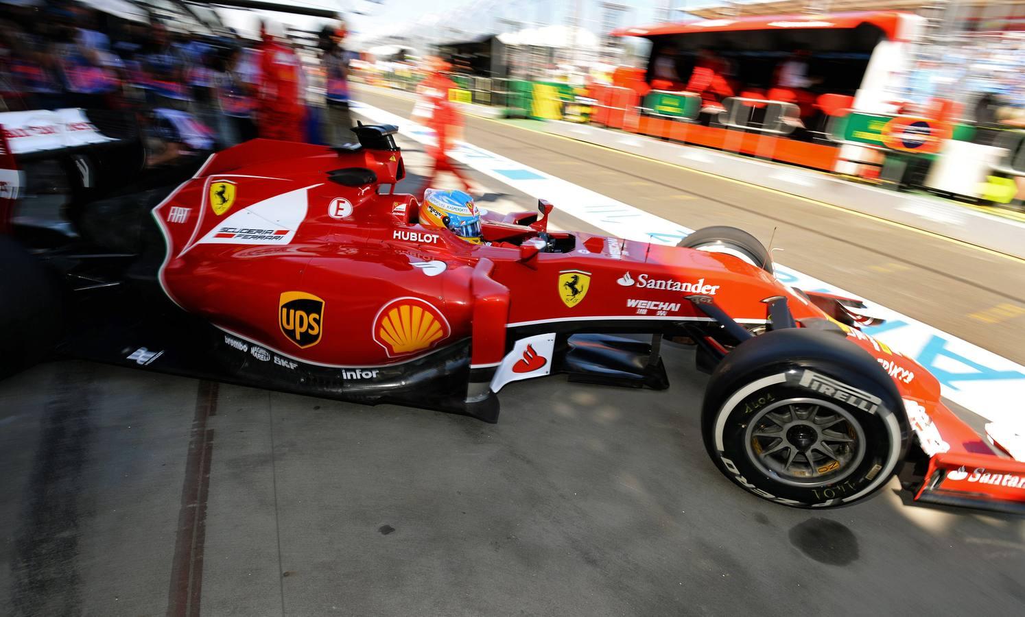 Las mejores imágenes de los entrenamientos del viernes en el Gran Premio de Australia de Fórmula Uno