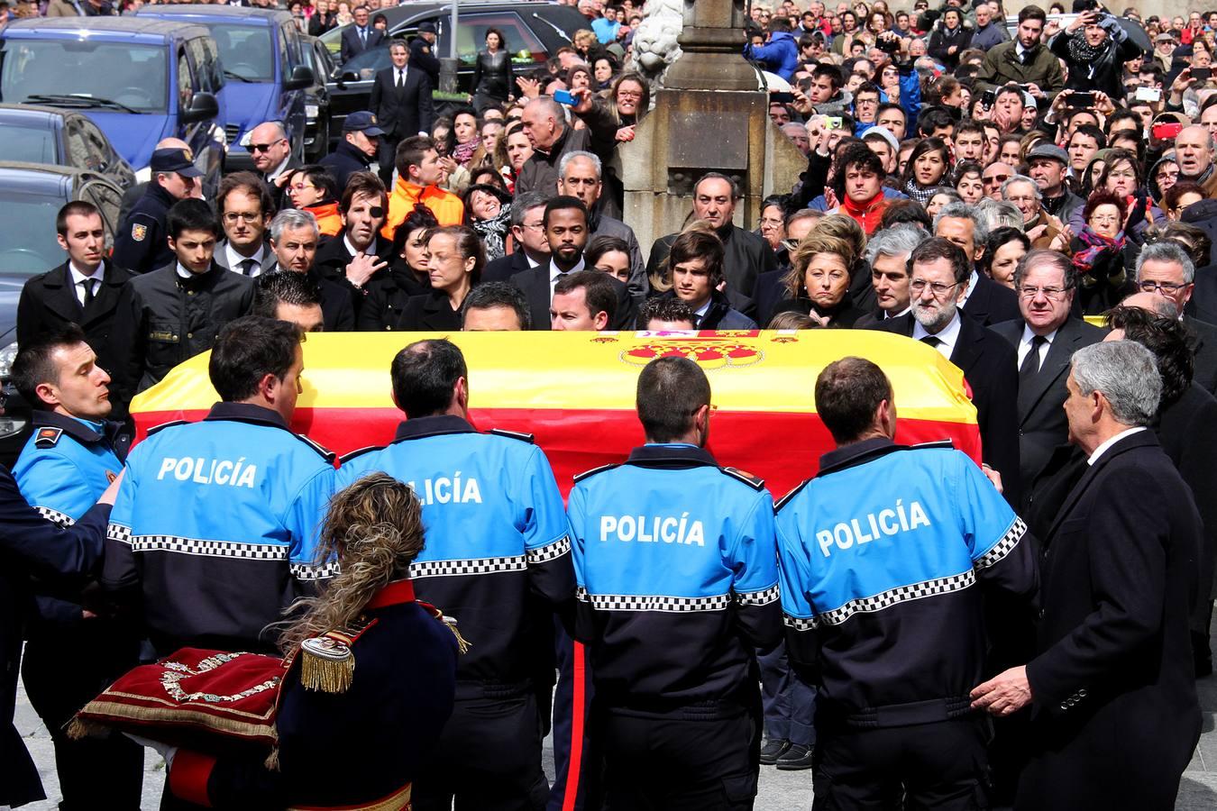 Funeral en Ávila de Adolfo Suárez