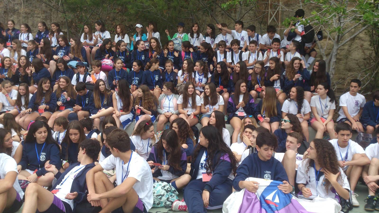 250 alumnos gijoneses de La Asunción viajan a Málaga por el 150 aniversario de la congregación